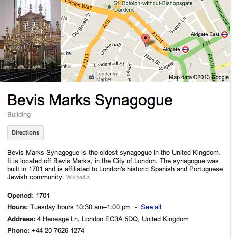 Bevis Marks