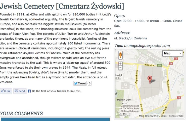 Lodz Cemetery