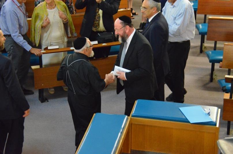 Meeting Rabbi Sholem Coleman