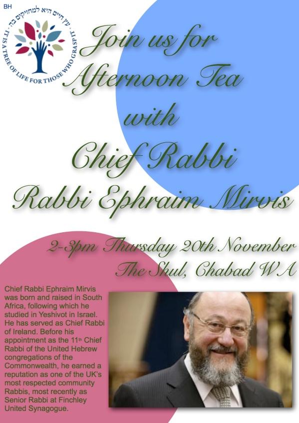 Rabbi Mirvis CHABAD